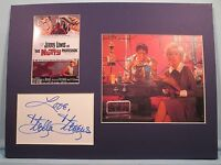 """Jerry Lewis in """"The Nutty Professor"""" signed by Stella Stevens as Stella Purdy"""