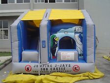 MASSIVE JUMPING CASTLE SALE - 4mx4m Arctic Moving Mouth** Commercial ** USED
