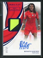 2018-19 RENATO SANCHES 05/25 AUTO BOOT PANINI IMMACULATE COLLECTION AUTOGRAPHS