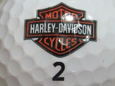 (1) HARLEY DAVIDSON MOTOR CYCLES  LOGO GOLF BALL #2