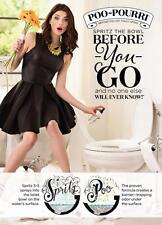 POO POURRI Before You Go DEODORIZER Toilet BATHROOM Spray LAVENDER VANILLA 8 oz