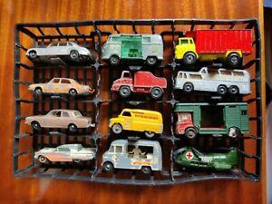 Matchbox Lesney group x 12 VW Ice Cream Thunderbird Cortina Wreck Rolls