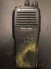 Motorola Radius Cp200 4-Channel Uhf