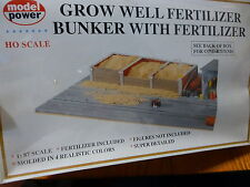 Model Power HO #313 Grow Well Fertilizer Bunker With Fertilizer (Kit Form)