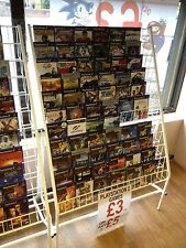 CHRISTMAS & GREETING CARD DISPLAY SHELVES CD Magazine DVD Rack Book Stand SMALL