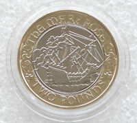2011 Royal Mint Mary Rose 500th Anniversary Uncirculated £2 Two Pound Coin