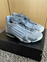 Nike Air Jordan Retro 14 Wolf grey Men SIZE 12 2014 487471-004