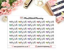 Pay Bills Planner Stickers/Erin Condren/ Happy Planner/Life Planner