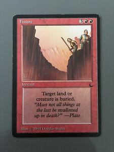 Fissure The Dark - Magic The Gathering MTG carte card -