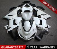 Bodywork Fairing Kit Unpainted ABS for KAWASAKI Ninja 636 ZX-6R 2005-2006 05 06