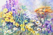 "Mom's Garden Original Acrylic Painting Canvas Artist Signed 36""x54"" Gallery Wrap"