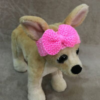 Pet Clothes for Dog Outfit Handmade Fancy Headband XXS XS S sizes