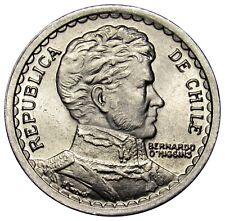 Chile 1 Peso coin 1958 KM# 179a UNC