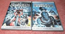 RARE WAR PLANETS SHADOW RAIDERS  COMPLETE FIRST AND SECOND SERIES 1 & 2 DVD
