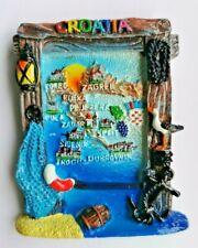 Croatia 3D Resin Holiday Tourist Travel Souvenir Gift Fridge Magnet