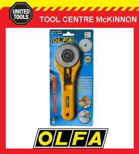 OLFA RTY-3/G 60mm ROTARY CUTTER SEWING & QUILTING CRAFT CUTTER – MADE IN JAPAN