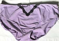 New Lane Bryant Cotton Hipster Panty With Lace Trim 26-28