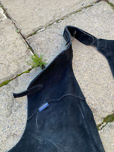 Full Black Suede Chaps by Chiltern Small.  Riding. Equestrian.