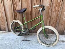 PEUGEOT Ancien petit vélo enfant,selle cuir  Henri Gauthier  Petit vélo enfant