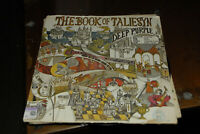 Deep Purple Book of Taliesyn LP 1ST US  psych vg vg- Britsh Ritchie Blackmore