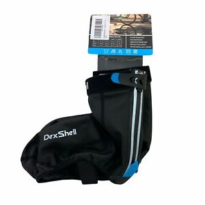 DexShell XL Lightweight H20 Resistant High Visibility Reflective Cycle OverShoes