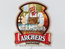 Archers Brewery Real Ale Pump Clip Hop Bouquet