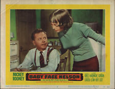 BABY FACE NELSON orig lobby card MICKEY ROONEY/CAROLYN JONES 11x14 movie poster