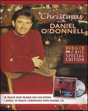 DANIEL O'DONNELL (DVD + CD) CHRISTMAS WITH DANIEL ~ ALL REGIONS DVD + CD *NEW*
