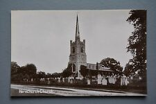 R&L Postcard: Hornchurch Church, AG Burgess Cosy Corner
