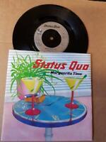 """Status Quo- Marguerita Time-Vinyl,7"""",45 RPM,Single Rock Sammlung UK 1983"""