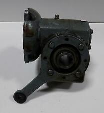 MORSE .92HP 1750RPM RATIO 10 GEAR REDUCER 18GSA