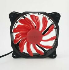 Red LED 120mm Computer Case LED Fan US Free Ship