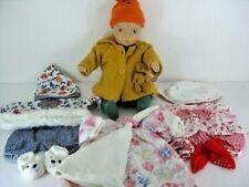 "1989 Gotz Sylvia Natterer 13"" Fanouche Collection Doll With Extra Clothes EUC"