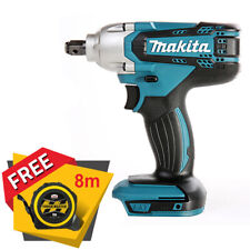 """Makita DTW190Z 18V 1/2"""" Square Impact Wrench Body Only + Free Tape Measures 8M"""