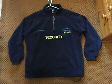 Security / Door Supervisor Fleece Jacket (XL) Uniform - Costume - Prop