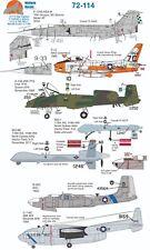Wolfpak Decals 72-114 Star Fighter OV-10A Boeing Superfortress RF-4C Tucano F15