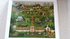 CHARLES WYSOCKI LITHOGRAPH: UNCLE JACKS TOPIARY TENDENCIES SIGNED NUMBERED