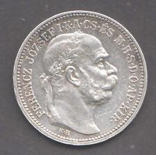 HUNGARY   1 Korona 1915   XF - aUNC   KM#492   Silver coin