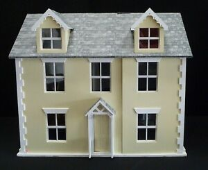 Very Large Wooden Dolls House 6 Rooms Post or Collection