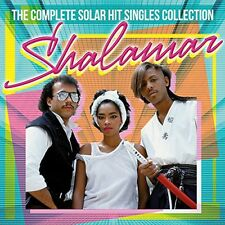 Complete Solar Hit Singles Collection - Shalamar (2014, CD NIEUW)2 DISC SET