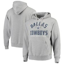 Dallas Cowboys Men's Heathered Gray Rolfe Pullover Hoodie 4xl
