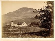 Autriche, Salzbourg, Eigenthal Vintage albumen print.  Tirage albuminé  20x2