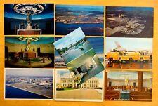 10 Postcards Logan & Municipal Airports East Boston MA 1932-1960s Airways Chapel