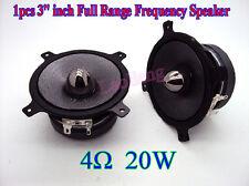 "1pcs New 3"" inch 4Ω ohm 20W Full Range Frequency Speaker Loudspeaker Für Car JBL"