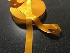 NEW GOLD  50mm SEAT BELT WEBBING VERY STRONG WEBBING