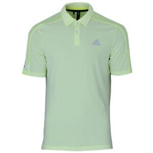 adidas Herren Golf Poloshirt Sport Aeroready Polo Golfshirt solar gelb