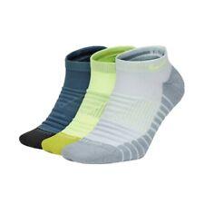 Nike Dri-Fit Socks Everyday Max No Show Cushion (3 Pack) Multi Men Size 8-12