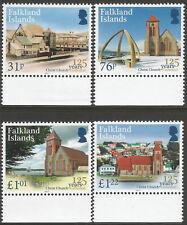 2017 Falkland Islands 125 Years Christ Church Cathedral Set UM