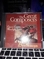 music cd rge great composers  beethoven emperior concerto moonlight sonata