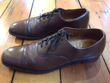 Vintage Benchmade Church's Brown Leather Oxfords Dress Mens Shoes Narrow
